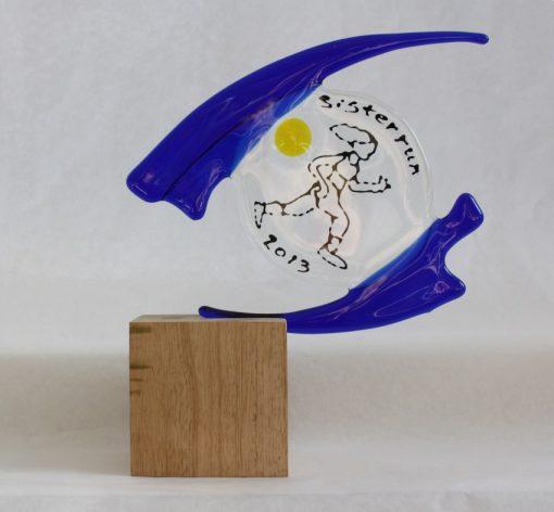 prijs van glas, gemaakt door By Vic glaskunst