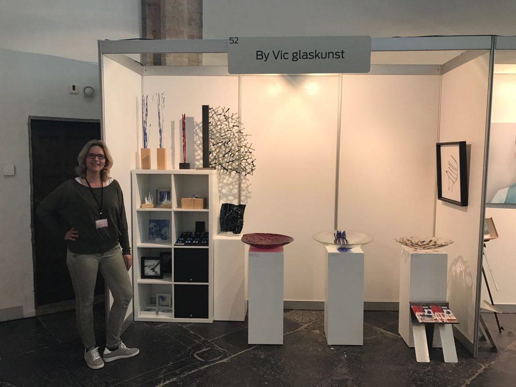 Brabant Art Fair 2017 deelname By Vic glaskunst Vught