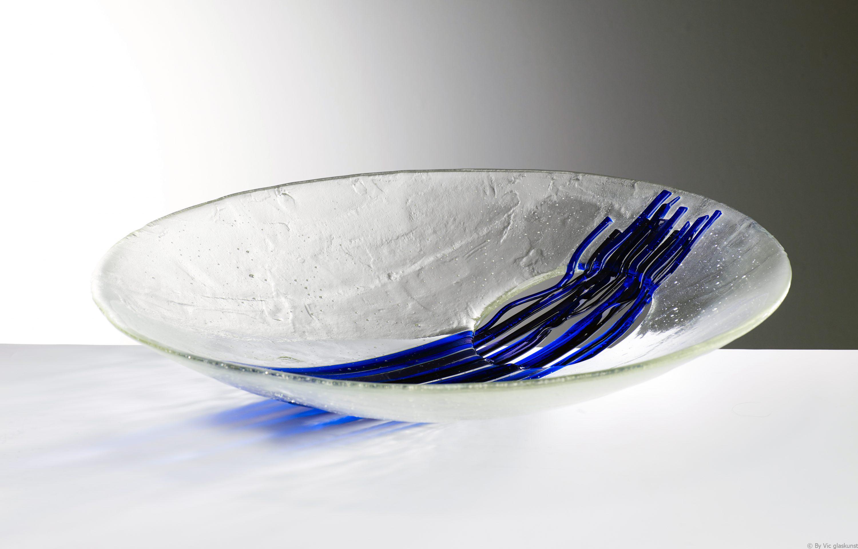 Energie,k grote glaskunst van By Vic uit Den bosch