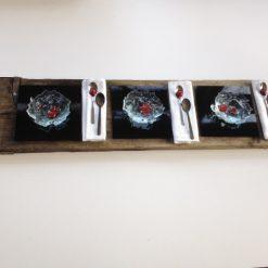 Mise en place - een maaltijd van glas door By Vic glaskunst