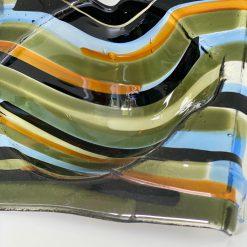 glaskunst gebaseerd op Zeeland en de Zeeuwse wateren