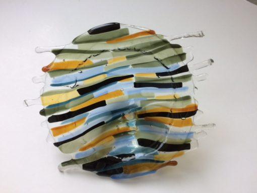 Aangespoeld - poisoned water in a bucket mini By Vic glaskunst