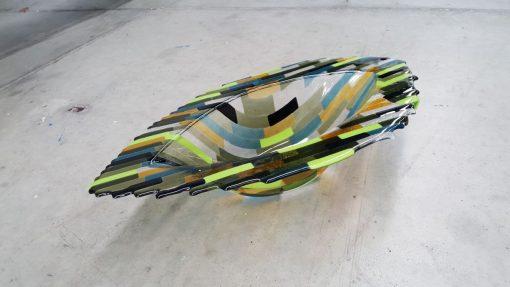 Glaskunst 'fish' van By Vic 64 cm lang