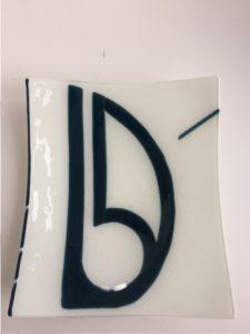 Opdracht By Vic glaskunst - schaal voor scheepsbouwer Breehorn