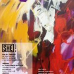 Groepsexpositie in She Art Gallery met deelnemer By Vic glaskunst