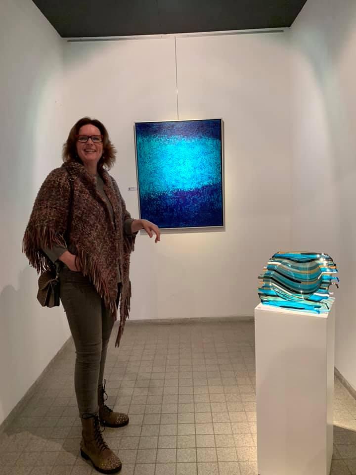 glaskunst By Vic in Galerie de Ruimte Geldrop