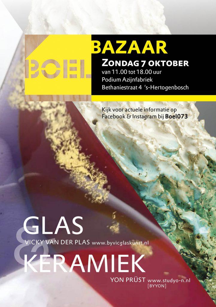 boel bazaar keramiek en glas