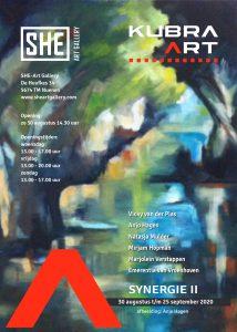 aankondiging expositie She Art Gallery Nuenen