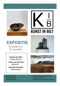 expositie Kunstinbilt de Bilt - glaskunst